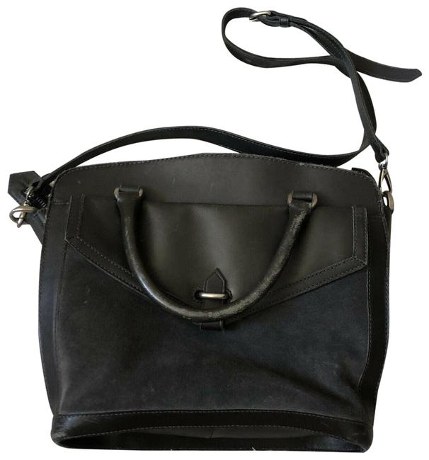 Item - The Sloane Blue Suede Leather Satchel