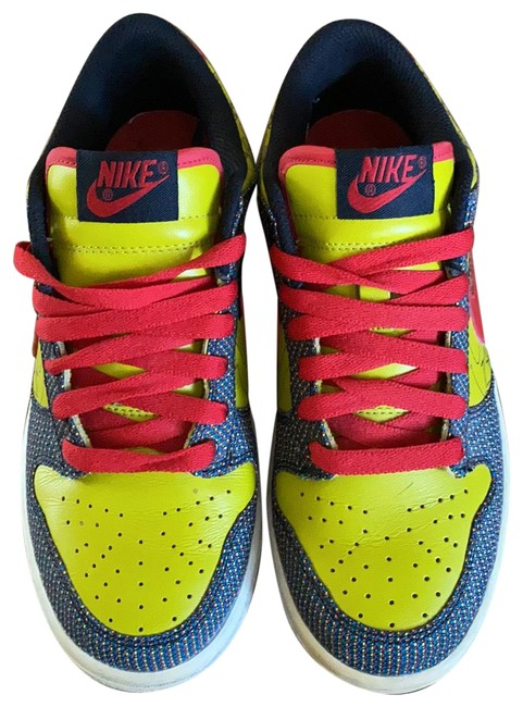 Item - Multicolor Leather Sneakers Size US 7 Regular (M, B)