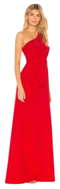 Item - Red Bright Butler Gown Women's Long Formal Dress Size 6 (S)