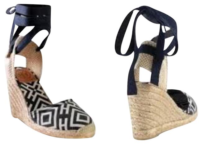 Item - Black Cream Clubhouse Wedge Espadrilles Boots/Booties Size EU 39 (Approx. US 9) Regular (M, B)