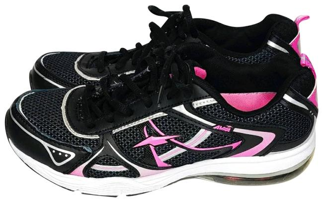 Item - Black and Pink Running Shoes Activewear Gear Size 8 (M, 29, 30)