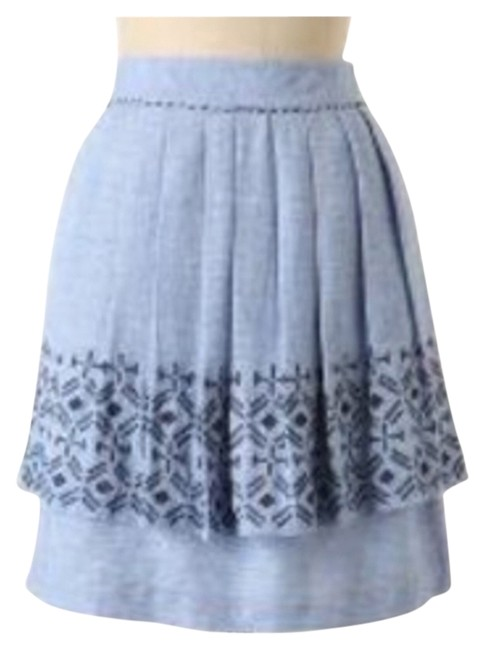 Anthropologie Skirt Light Blue