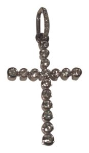 Swarovski Silver Diamond Cross Pendant