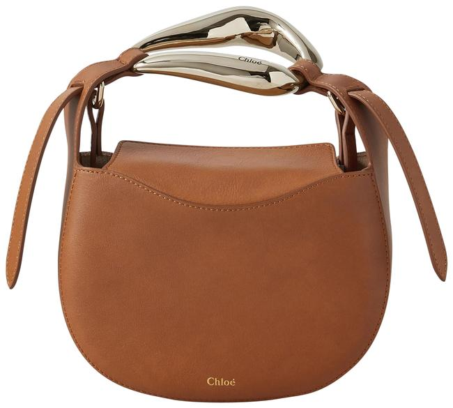 Item - Kiss Small Brown Leather Tote