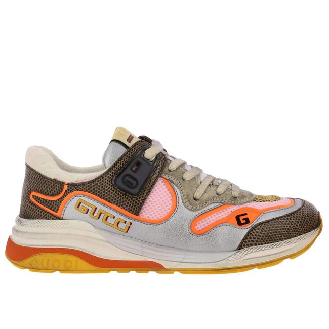 Item - Grey Ultrapace Tejus Printed Sneakers Size EU 39 (Approx. US 9) Regular (M, B)