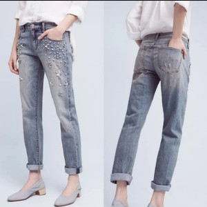 Pilcro And The Letterpress Relaxed Fit Jeans-Medium Wash