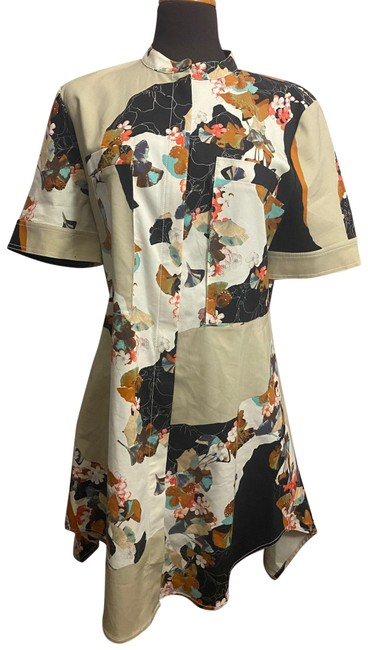 Item - Multicolor Mid-length Night Out Dress Size 12 (L)