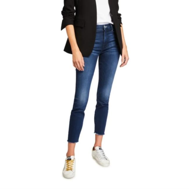 Item - Blue Medium Wash Until Next Time High Waisted Looker Skinny Straight Leg Jeans Size 26 (2, XS)