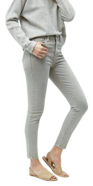 Item - Gray Rivington The Crop Double Ripped Skinny Jeans Size 24 (0, XS)