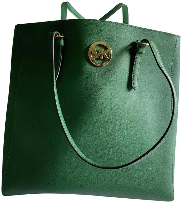 Item - Pebbles Green Leather Tote