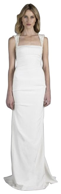 Item - Ivory Felicity Bridal Gown Msrp 1 500 Long Formal Dress Size 2 (XS)