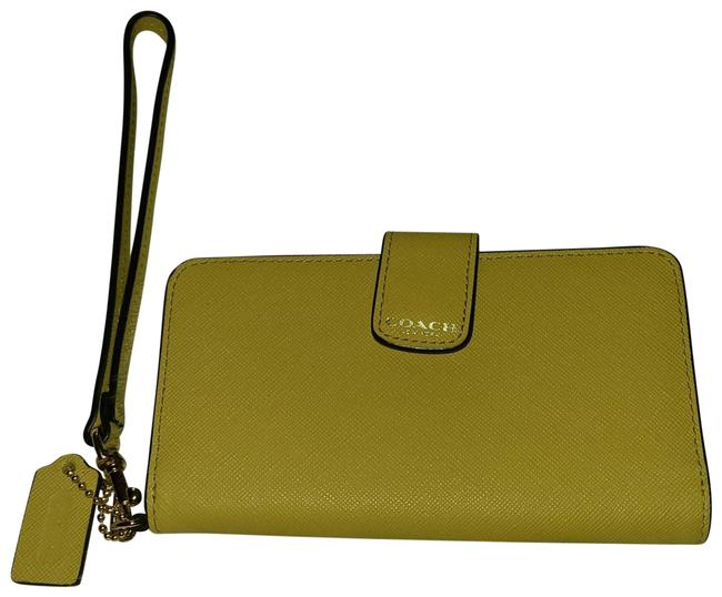 Item - Yellow New York Leather Wallet