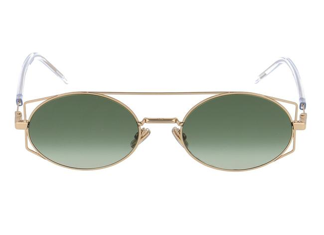 Item - Gold Green New Architectural J5g architectural Sunglasses