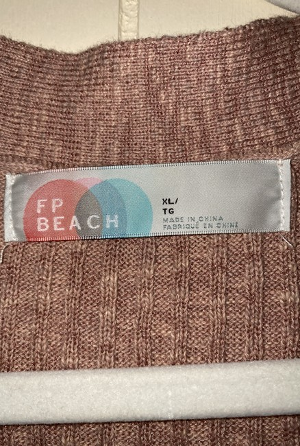 Free People Dusty Rose Fp Beach Button-down Top Size 16 (XL, Plus 0x) Free People Dusty Rose Fp Beach Button-down Top Size 16 (XL, Plus 0x) Image 6