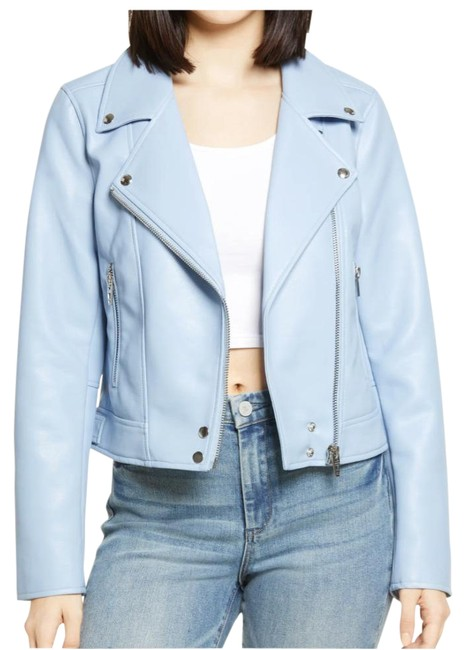 Item - High Waters Blue Good Vibes Jacket Size 8 (M)