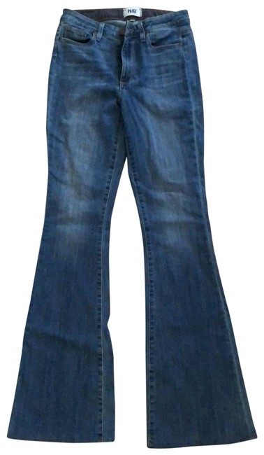 Item - Medium Wash High Rise Bell Canyon Flare Leg Jeans Size 4 (S, 27)