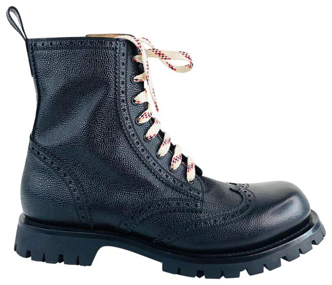 Item - Black New Arley Lace Up Military Brogue Lug Sole Ankle 11 Boots/Booties Size US 11.5 Regular (M, B)