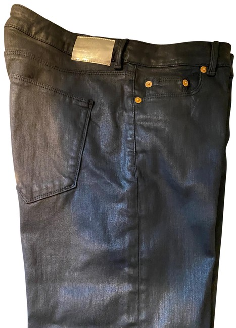 Item - Coated Skinny Jeans Size 8 (M, 29, 30)