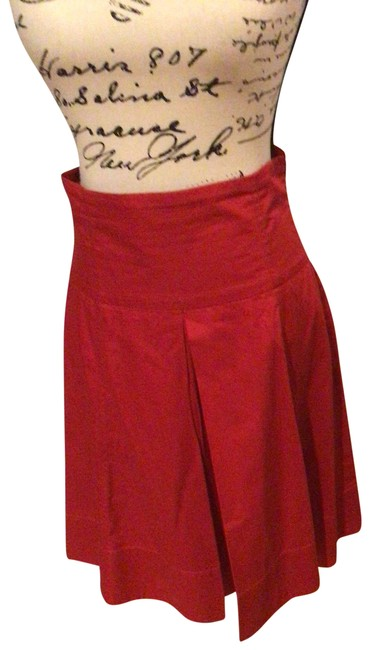 Item - Red A-line Skirt Size 8 (M, 29, 30)