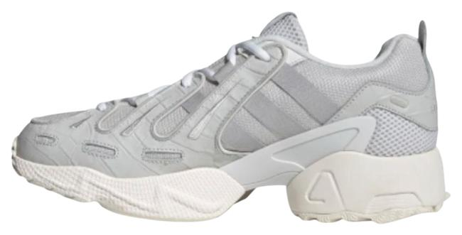 Item - Grey/ Silver/ White Gazelle New Eqt Lace Up Casual Womens. Retail 200 Sneakers Size US 7.5 Regular (M, B)