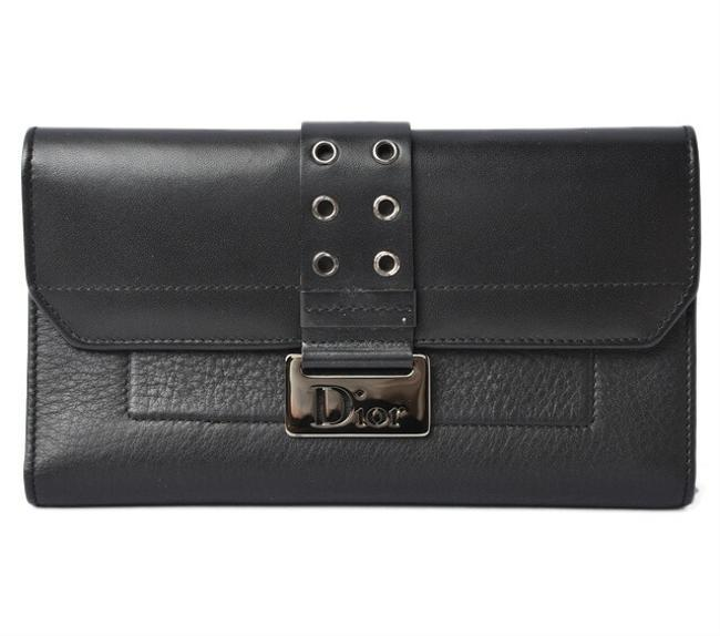 Item - Black Multi-wallet Long with Pass Case Street Chic Wallet