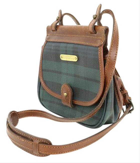 Item - Polo Check Leather Ladies Green Pvc Shoulder Bag