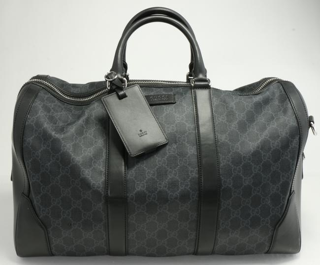 Item - Black Duffle Gg Carry-on Men's Jewelry/Accessory