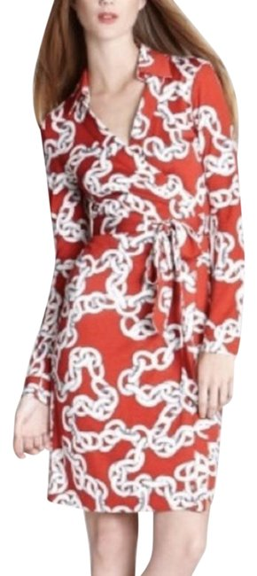 Item - Red Jeanne 2 Chain Maternity Dress Size 10 (M, 30)