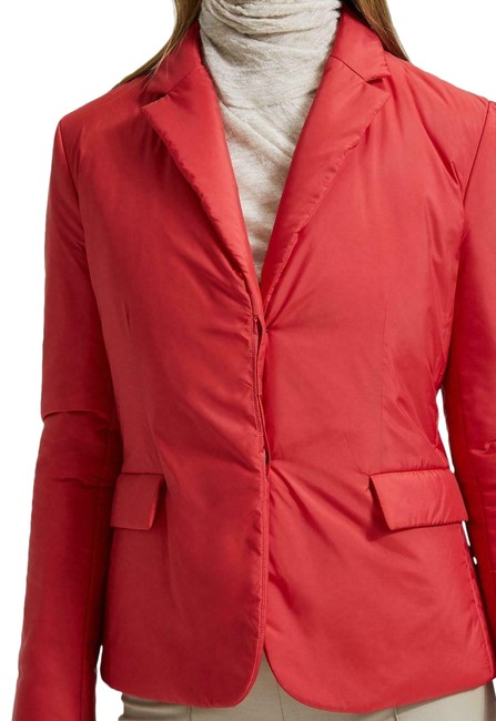 Item - Red Puffer Down Blaze Coat Size 4 (S)