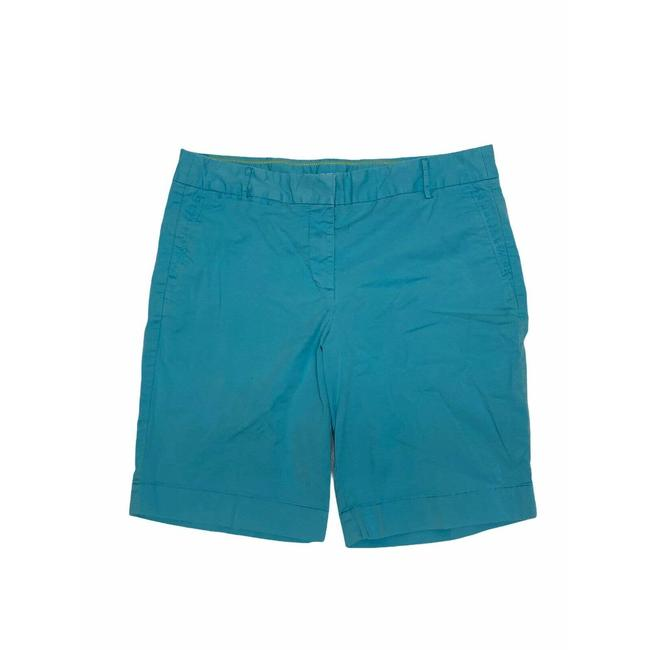 Item - Blue Stretch Summer Weight Chino Flat Front Shorts Size 8 (M, 29, 30)