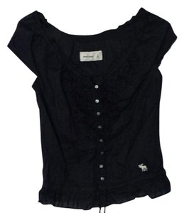 Abercrombie Kids Top Navy