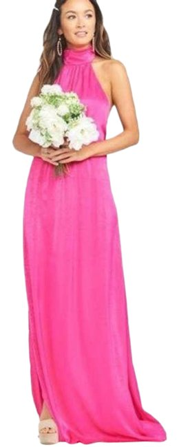 Item - Pink Collette Flirty Sheen Casual Maxi Dress Size 6 (S)