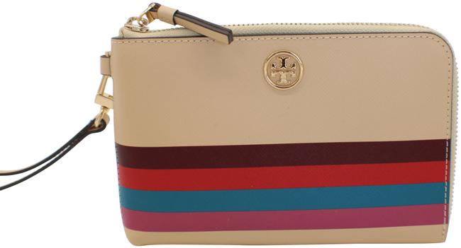 Item - 61588 Gift Giving New Ivory Leather Wristlet