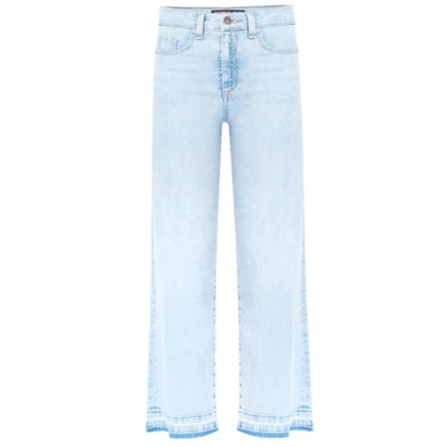 """Item - Blue Ali 11"""" Gaucho with Frayed Hem - Trouser/Wide Leg Jeans Size 28 (4, S)"""