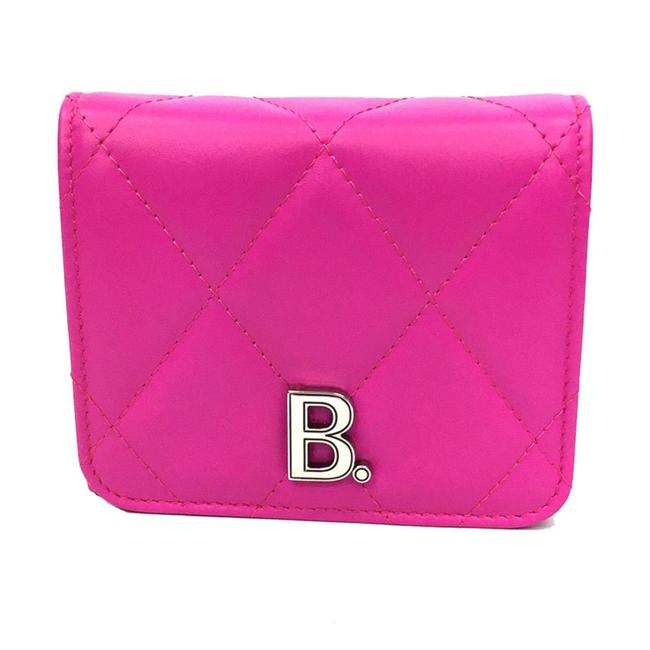 Item - Pink Tri-fold 617781 1wn1y 5514 Quilted Leather Wallet