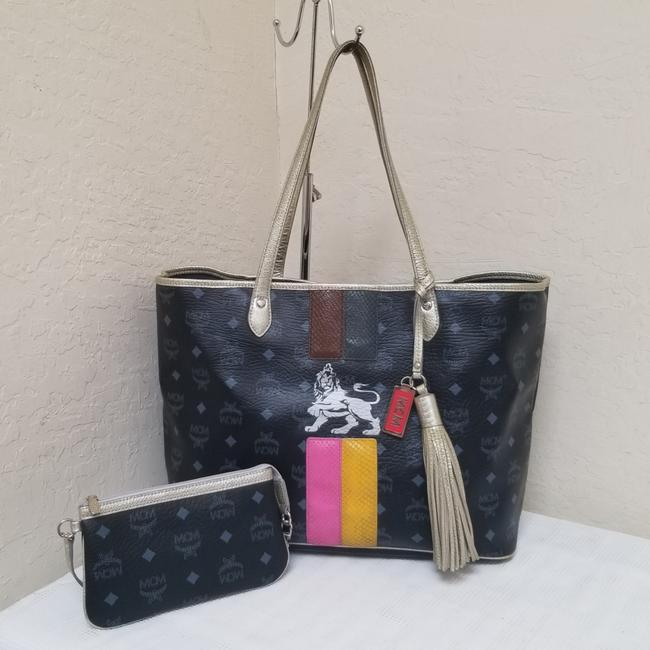 Item - Black Shopper with Pouch Tote