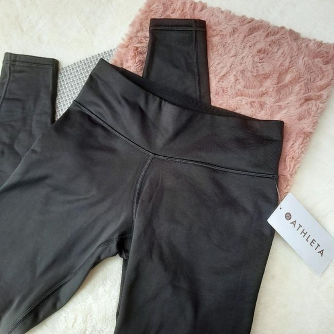 Item - Black Alpine Valley Tight Fleece Lined Workout Running Blogger Fave Activewear Bottoms Size 2 (XS, 26)