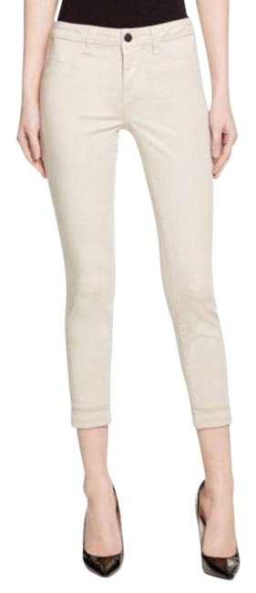 Item - Tan Cream Anja Rolled Crop Ankle In Ashwood Capri/Cropped Jeans Size 26 (2, XS)