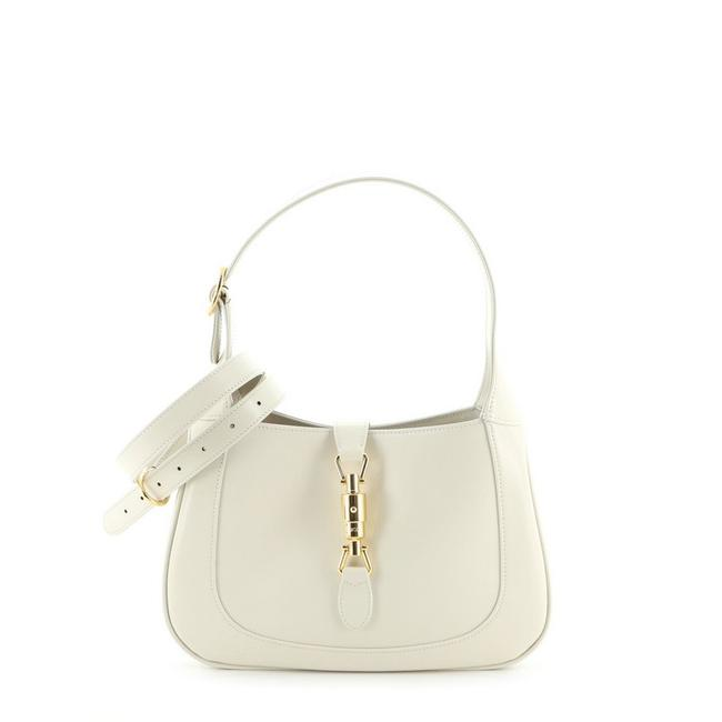 Item - Jackie 1961 Small Neutral Leather Hobo Bag