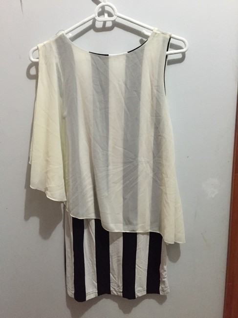 Other short dress white and black on Tradesy
