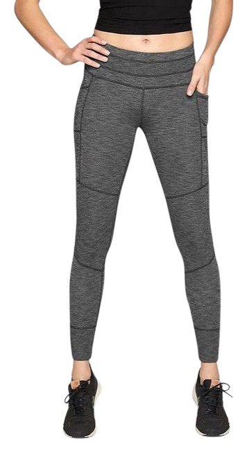 Item - Gray Excursion Heathered Tight Jogger Activewear Bottoms Size 8 (M)