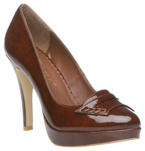 Shoesdazzle Brown Platforms