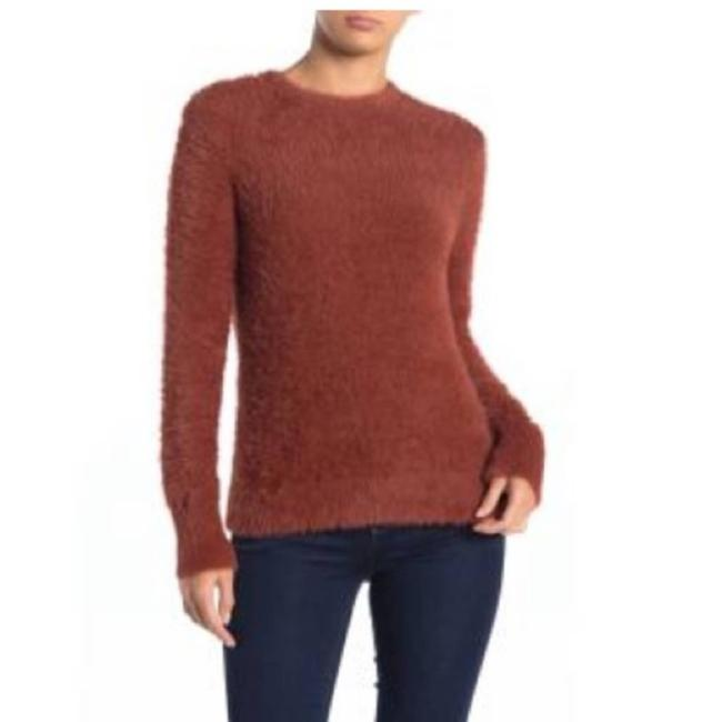 Item - Faux Fur Fluffy Spice Brown Sweater