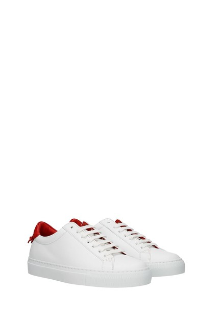 Givenchy White Urban Street Women Leather Red Sneakers Size EU 37 (Approx. US 7) Regular (M, B) Givenchy White Urban Street Women Leather Red Sneakers Size EU 37 (Approx. US 7) Regular (M, B) Image 2