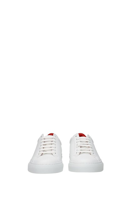 Givenchy White Urban Street Women Leather Red Sneakers Size EU 37 (Approx. US 7) Regular (M, B) Givenchy White Urban Street Women Leather Red Sneakers Size EU 37 (Approx. US 7) Regular (M, B) Image 3