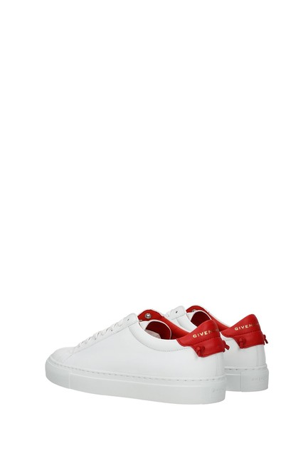 Givenchy White Urban Street Women Leather Red Sneakers Size EU 37 (Approx. US 7) Regular (M, B) Givenchy White Urban Street Women Leather Red Sneakers Size EU 37 (Approx. US 7) Regular (M, B) Image 4