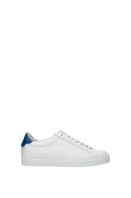 Givenchy White Urban Street Women Leather Blue Sneakers Size EU 35.5 (Approx. US 5.5) Regular (M, B) Givenchy White Urban Street Women Leather Blue Sneakers Size EU 35.5 (Approx. US 5.5) Regular (M, B) Image 1
