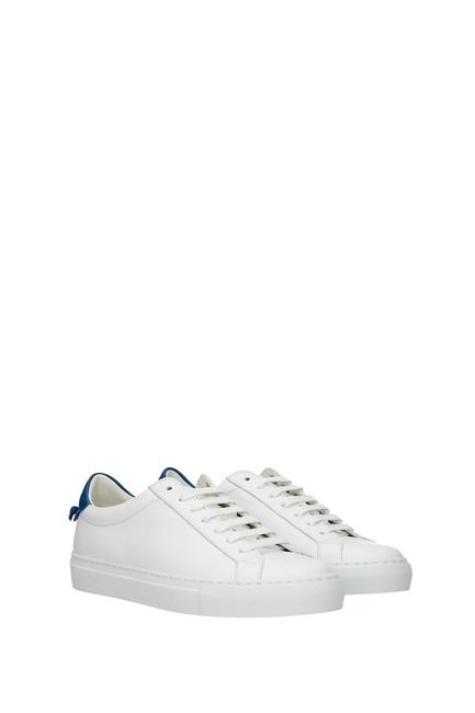 Givenchy White Urban Street Women Leather Blue Sneakers Size EU 35.5 (Approx. US 5.5) Regular (M, B) Givenchy White Urban Street Women Leather Blue Sneakers Size EU 35.5 (Approx. US 5.5) Regular (M, B) Image 2