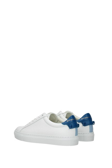 Givenchy White Urban Street Women Leather Blue Sneakers Size EU 35.5 (Approx. US 5.5) Regular (M, B) Givenchy White Urban Street Women Leather Blue Sneakers Size EU 35.5 (Approx. US 5.5) Regular (M, B) Image 4