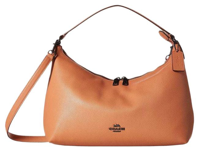 Item - East/West Celeste Convertible In Pebble Brown Leather Hobo Bag